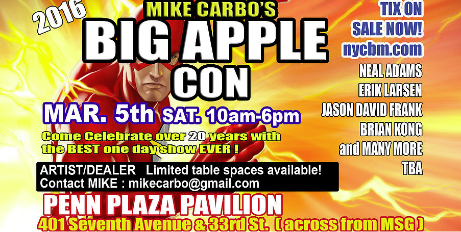 Big Apple Con 2016